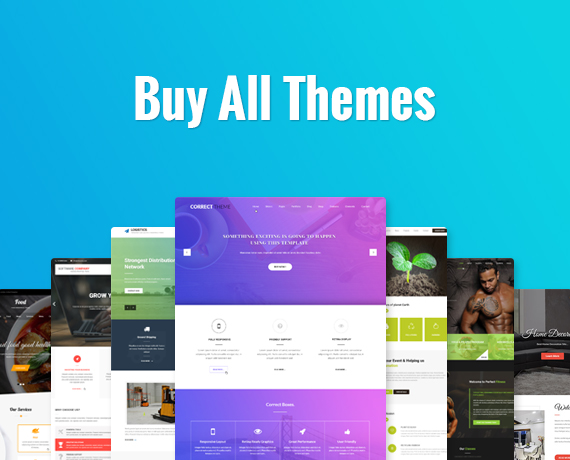 Wordpress Theme Bundle Sale Offer For All Themes Access And Support