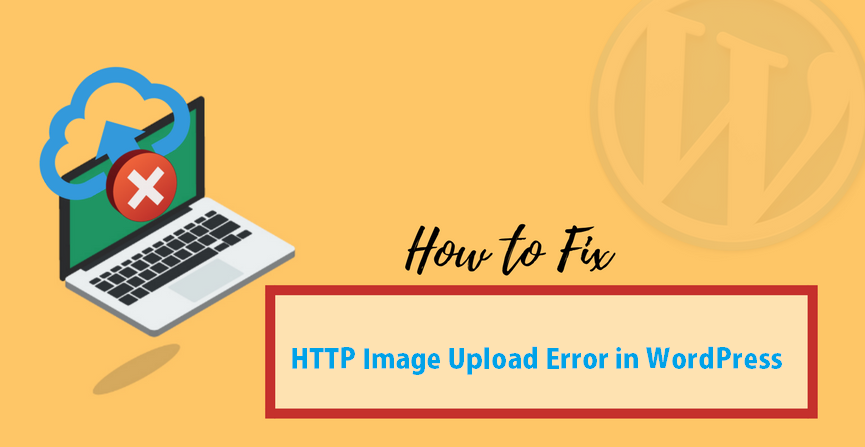 http image upload error wordpress