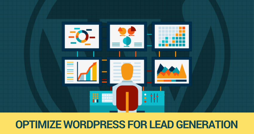 optimize wordpress for lead generation