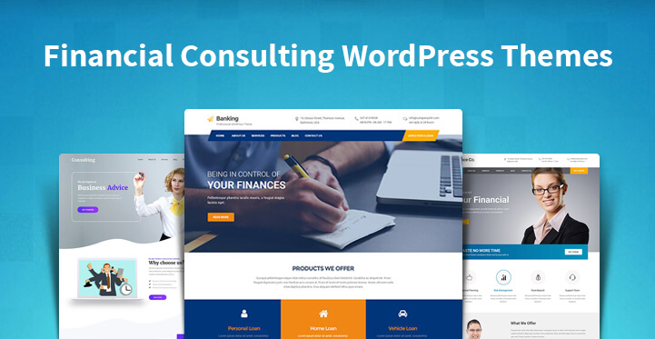 Financial Consulting WordPress Themes