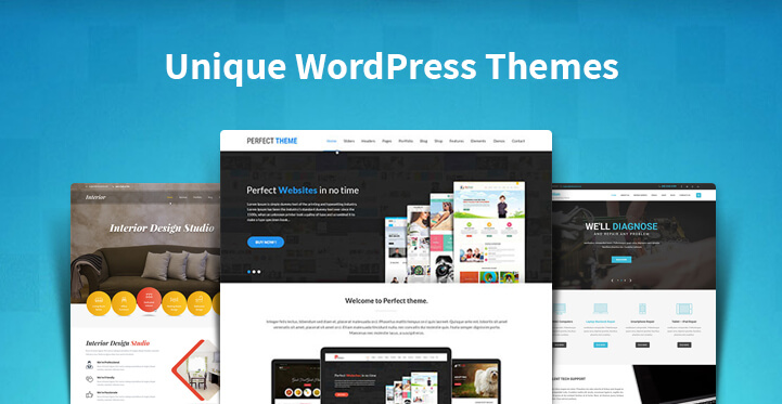 Unique WordPress Themes